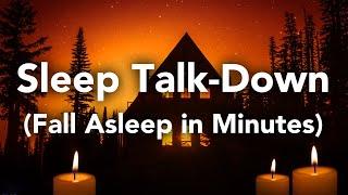 Val in slaap in MINUTEN! Slaap Praten-Omlaag geleide meditatie Hypnose om te slapen