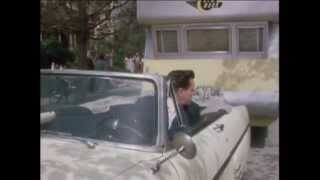 Desi Arnaz parking his rig in The Long Long Trailer with Lucille Ball and music by Eddie Heywood