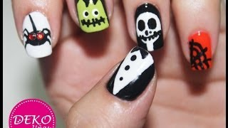 Decoracion De Uñas Halloween - Nail Art Halloween
