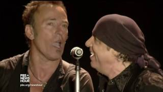 The music is medicine for Bruce Springsteen