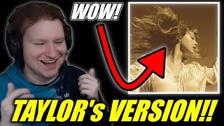 Taylor Swift - Love Story (Taylor's Version) REACTION!!