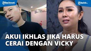 Kalina Sebut Ada Prahara Rumah Tangga, Mengaku Ikhlas Jika Harus Bercerai dengan Vicky Prasetyo