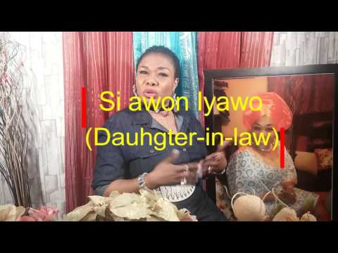Iyawo si Iya oko(Daughter-in-law)