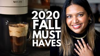 2020 Fall Essentials and Must Haves- Accessories, Beauty, Skincare, Home
