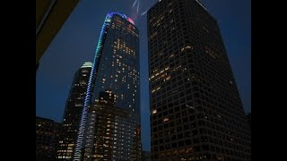 Raw: Tallest Building in Western US Opens in LA