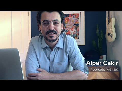 Watch Xtensio founder Alper Cakir create a business document in minutes