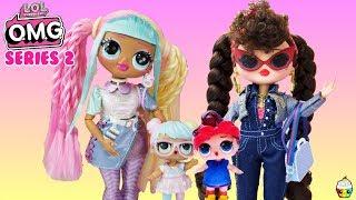 LOL OMG Series 2 Dolls NEW Bon Bon & Can Do Baby Big Sisters