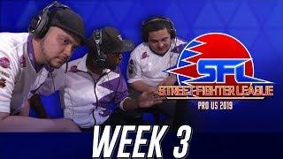 Street Fighter League (Season 2) - Week 3