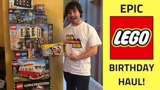 EPIC LEGO Birthday Haul - Pittsburgh LEGO Store October, 2018