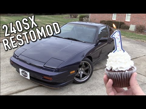 Here's The Progress I've Made On The 240SX Restomod In The Last Year!