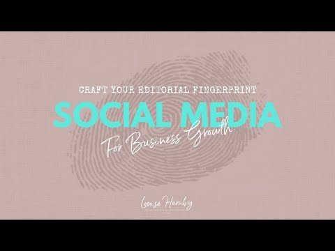 Training for editors and proofreaders: Social media for ... - YouTube