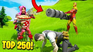 TOP 250 FUNNIEST FAILS IN FORTNITE (Part 5)