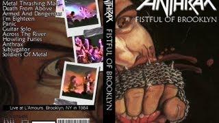Anthrax Neil Turbin 2/25/1984 Fistful Of Metal Live FULL CONCERT!