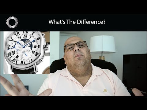 What Is The Difference Between A $5,000 Watch and a $50,000 Watch ?