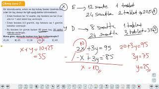 Eğitim Vadisi TYT Matematik 18.Föy Sayı Problemleri Soru Çözümü 2 Konu Anlatım Videoları