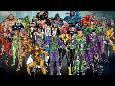 Top 10 Greatest DC Supervillains