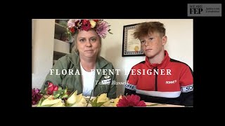 Tania Russell -floral Event Designer Gives Workshop On Creative Floristry At Home