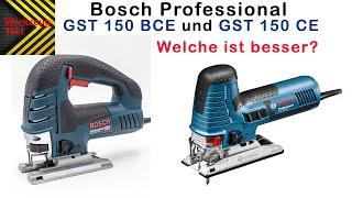 Werkzeug Test - Stichsäge Bosch GST 150 CE und Bosch GST 150 BCE