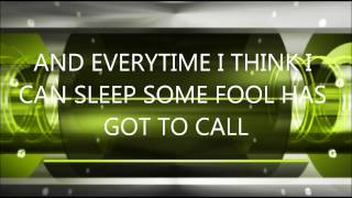 Don't Ask Me No Questions - Chris Cagle Lyrics