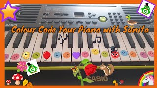 How To Colour Code your Piano!