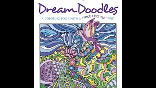 Flip Through Dover Creative Haven Dream Doodles Coloring Book By Kathy Ahrens