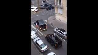 Altercations entre FN et PS à Caen dimanche 25 mai 2014
