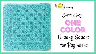 Super Easy Granny Square For Beginners!