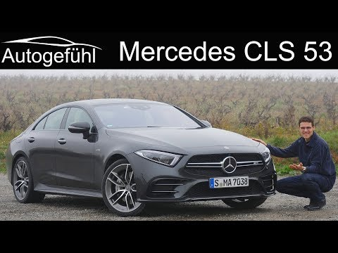 Mercedes CLS FULL REVIEW all-new 2019 AMG CLS 53 - Autogefühl