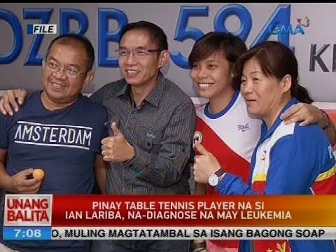 UB: Pinay table tennis player na si Ian Lariba, na-diagnose na may leukemia