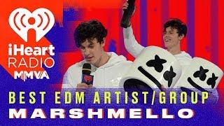 Marshmello's Identity Is Revealed! | 2018 IHeartRadio MMVA