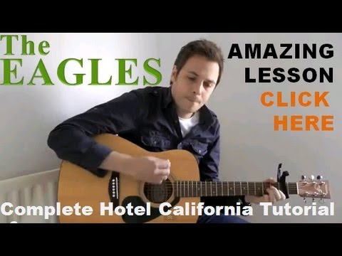 How To Play Hotel California - Acoustic