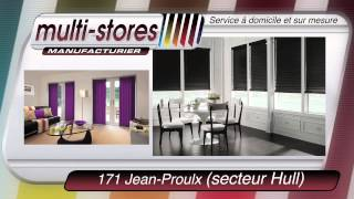 preview picture of video 'stores store blinds decoration deco gatineau hull ottawa aylmer www.multistores.ca multi-stores'