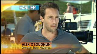 Alex OLoughlin Interview On The 7pm Project - Hawaii 5-0