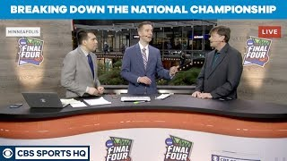 Virginia or Texas Tech? Who has the EDGE in the National Championship? | CBS Sports HQ
