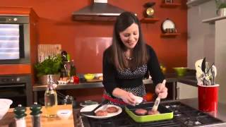 Harissa Flavoured Lamb Burgers with Tzatziki Catherine Fulvio