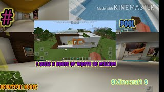 I Build House Of Worth 50 Million  In #Minecraft