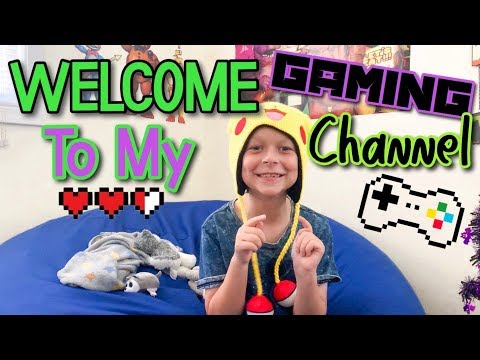 WELCOME TO MY GAMING CHANNEL