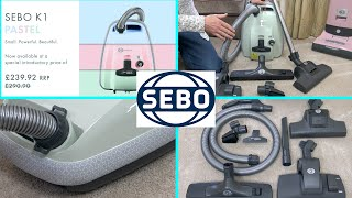 Sebo K1 Pastel Mint Vacuum Cleaner Unboxing & First Look