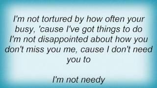 Alanis Morissette - Doth I Protest Too Much Lyrics