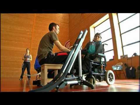 La boccia ou la pétanque pour handicapés (France 3 Bretagne)