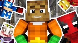 SUPERHERO COPS AND ROBBERS HIDE AND SEEK MOD - Minecraft Mod (SUPER PRISON)
