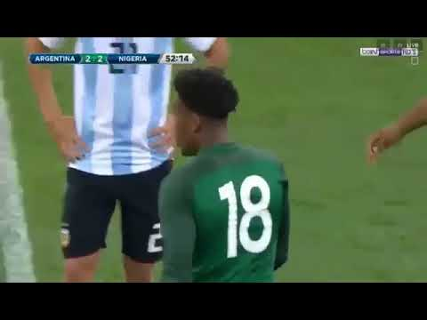 HIGHLIGHT: Nigeria Vs Argentina Friendly 14/11/2017