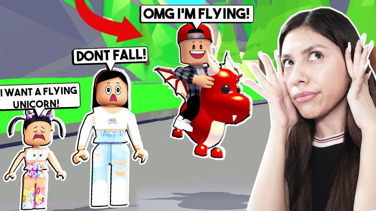 Jag Kopte Min Bortskamda Son En Flygande Husdjur Sa Att Han Kunde