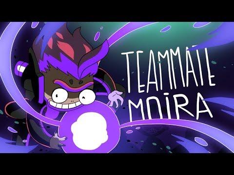 TEAMMATE MOIRA (OVERWATCH ANIMATION)