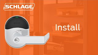 How to Install Schlage NDE Series Wireless Lock