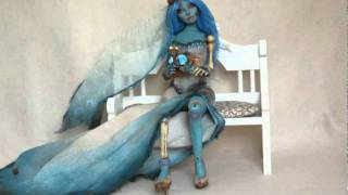 Труп невесты, Corpse Bride Halloween Bjd Doll by Chris Garcia