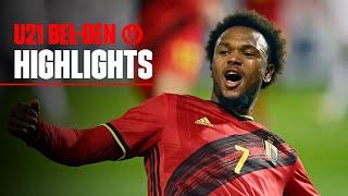 U21 | #U21EURO | Highlights Belgium 1-0 Denmark