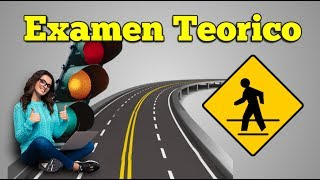 EXAMEN TEORICO DE MANEJO  PREGUNTAS Y RESPUESTAS PARA LICENCIA DE CONDUCIR/ carro/ manejar