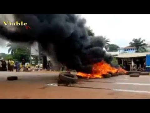 Happening Now : Protest Rocks Enugu Over Murder of Another Woman By Suspected Herdsmen