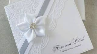 Wedding Card Designs L Latest Invitation Cards L Indian Wedding Card Design